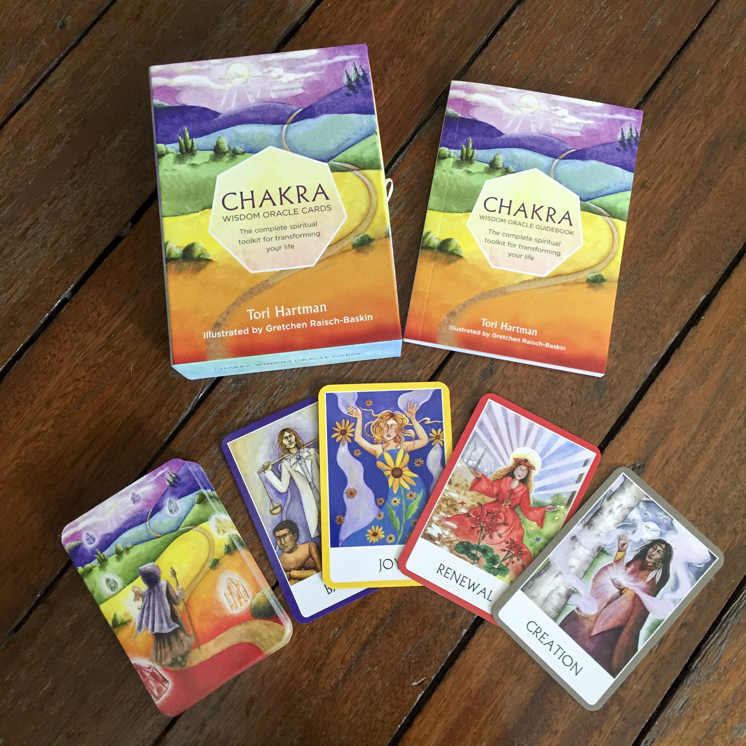Chakra Wisdom Oracle Cards A Surplice Of Spirit