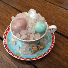 Small Cup of Inspiration - Calm Loving Heart