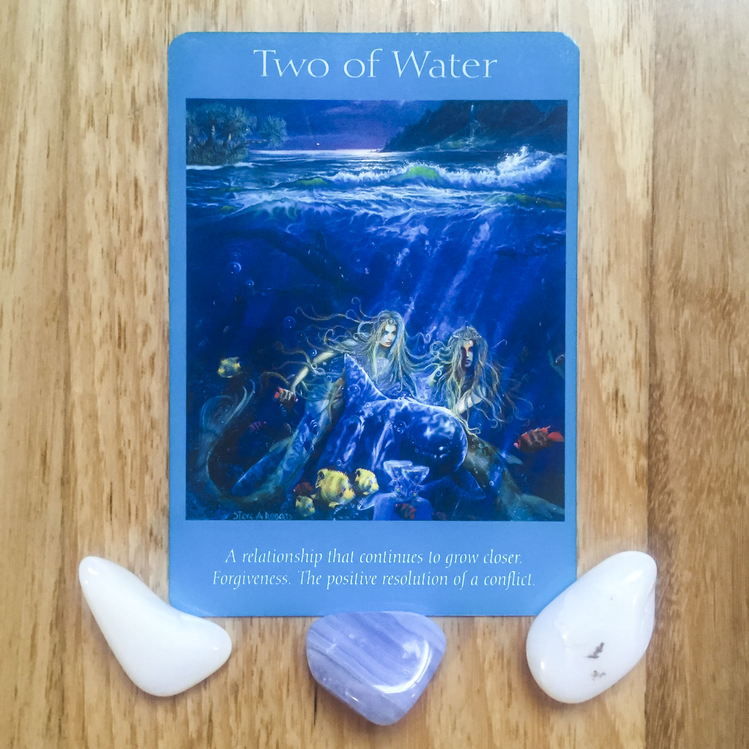 Card a day - two of water