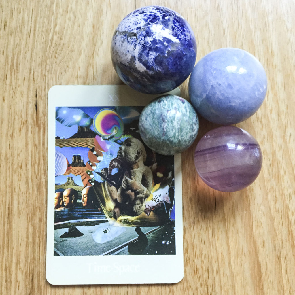 Card reading - Time-Space
