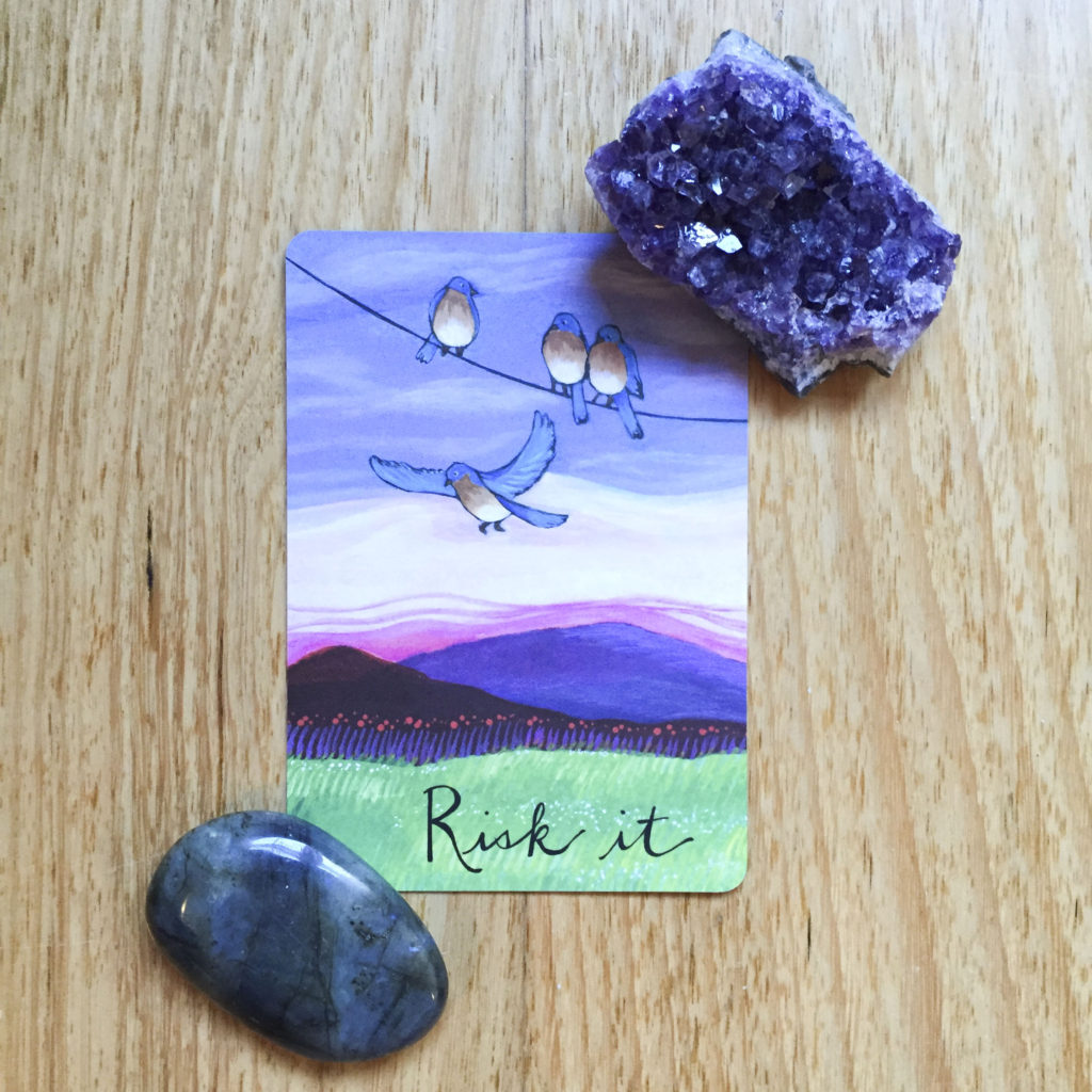 Card reading - risk it
