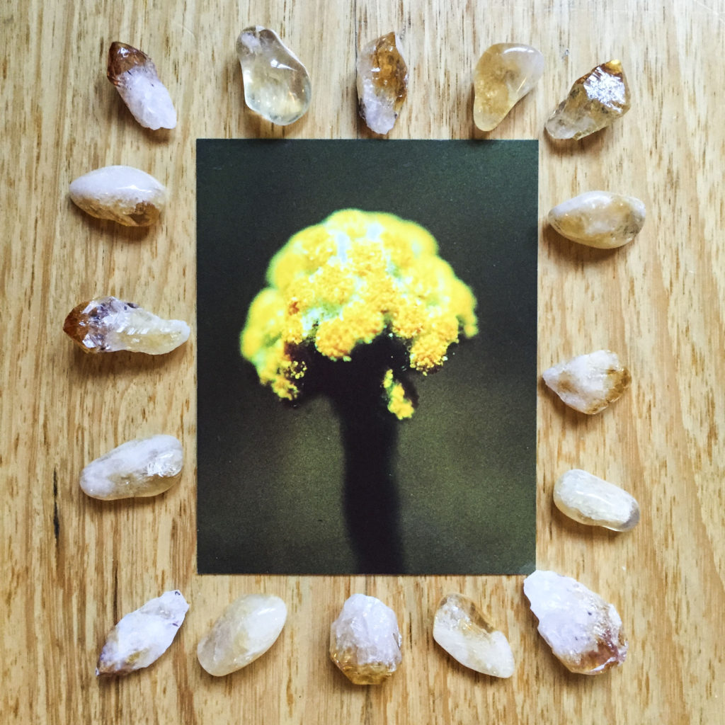 Card reading - citrine