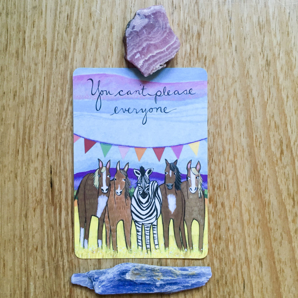card of the day - 28 august  can u0026 39 t please everyone