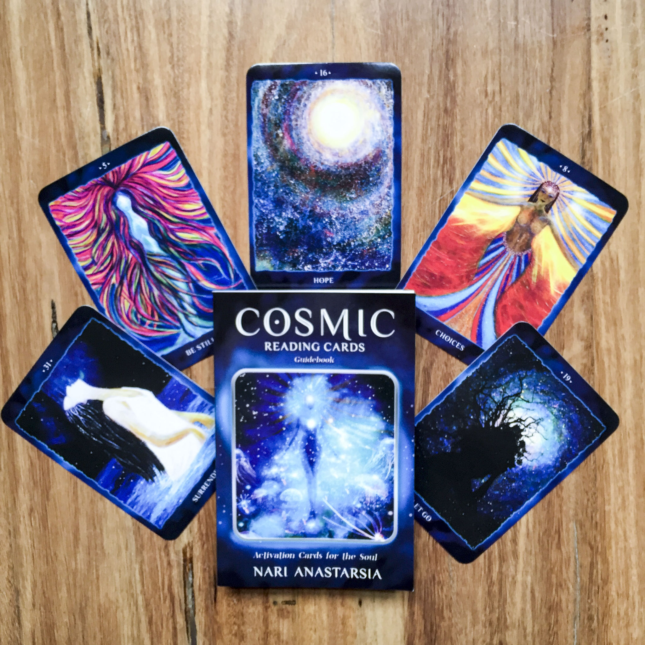 Cosmic Reading Cards By Nari Anastarsia A Surplice Of Spirit