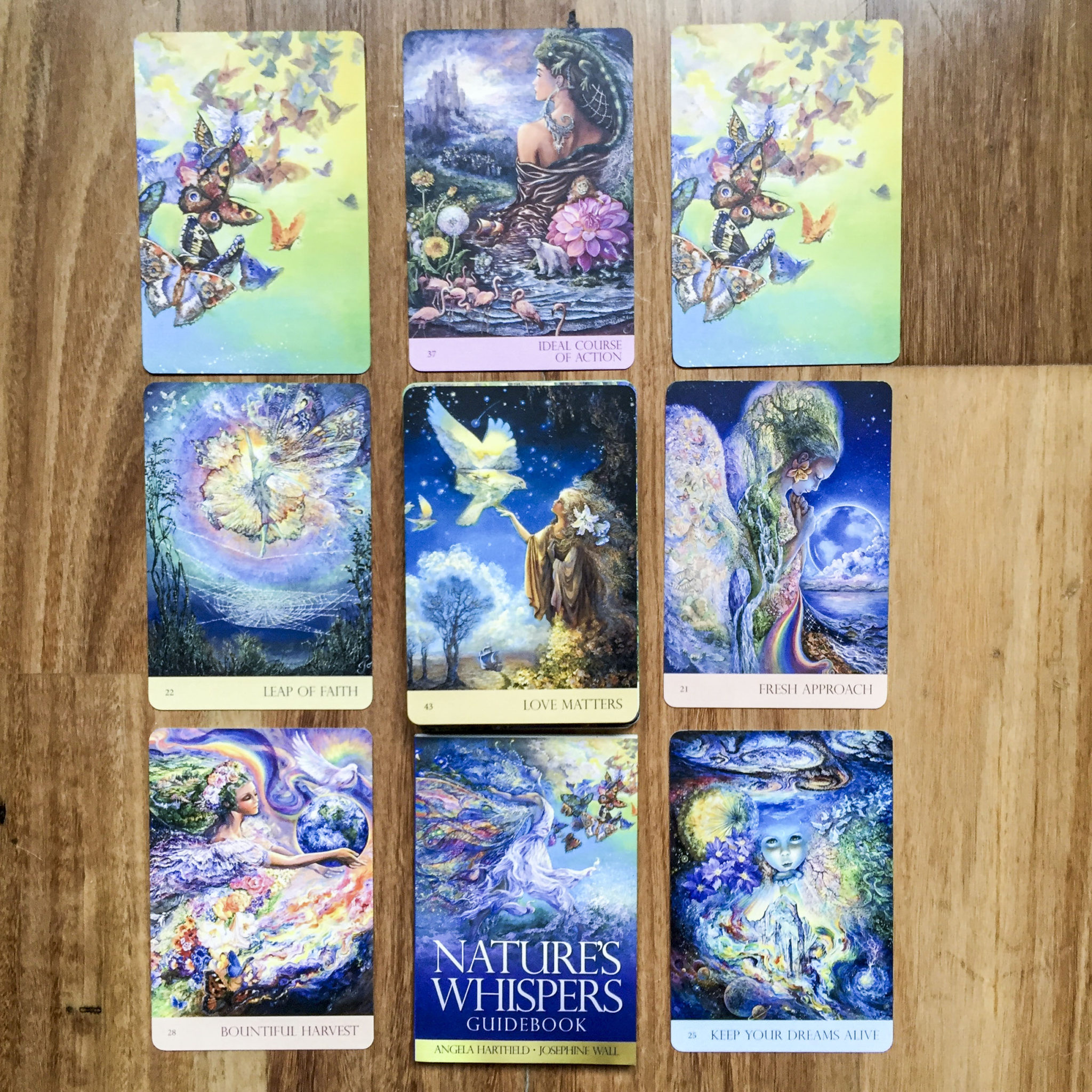 Nature S Whispers Oracle Deck