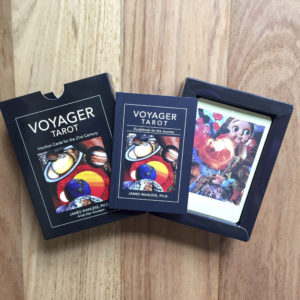 Voyager Tarot Cards by James Wanless