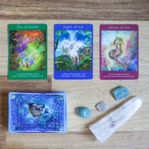 Online angel and crystal readings by Melanie Surplice, certified Angel Card Reader
