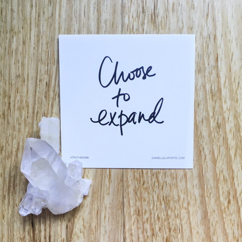 Choose to Expand