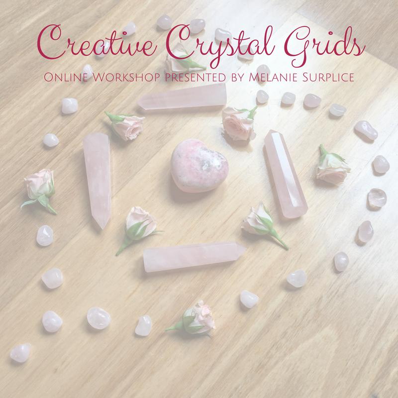 Creative Crystal Grids Online Workshop