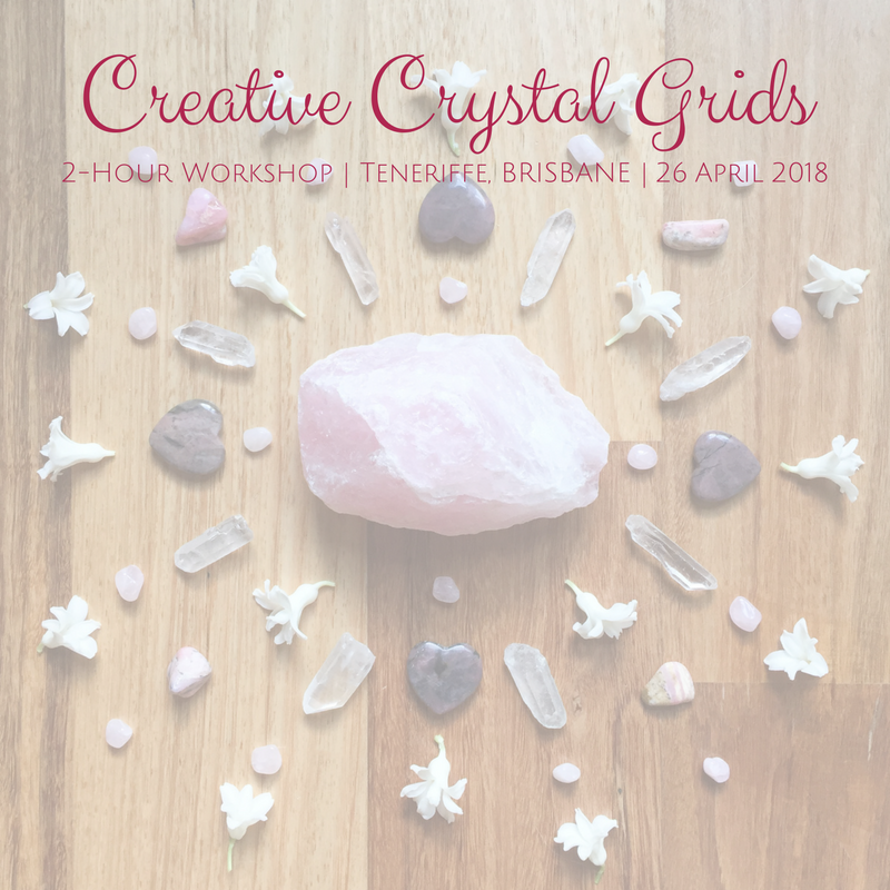 Creative Crystal Grids workshop in Brisbane